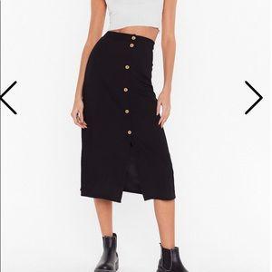 Nasty Gal Midi Skirt